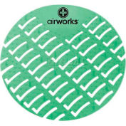 AirWorks® Urinal Screen, Evergreen, 10/Case, AWUS005-BX