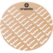 AirWorks® Urinal Screen, Cinnamon, 10/Case, AWUS006-BX