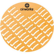 AirWorks® Urinal Screen, Mango, 10/Case, AWUS007-BX