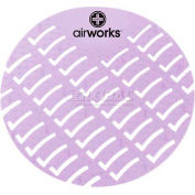 AirWorks® Urinal Screen, Clean Cotton, 10/Case, AWUS008-BX