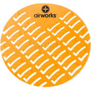 AirWorks® Urinal Screen, Citrus Grove, 10/Case, AWUS231-BX