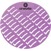 AirWorks® Urinal Screen, Midnight Sky, Black, 10/Case, AWUS235-BX