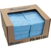 "TaskBrand® Counter Food Service Towel, Blue, 12"" x 21"", 200/Case, N-F110QCB"