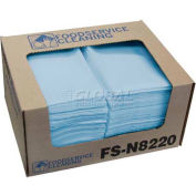 "TaskBrand® Deluxe Food Service Towel, Blue, 13"" x 21"", 150/Case, FS-N8220"