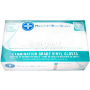 ProWorks® 4 Mil Exam Vinyl Powder-Free Disposable Gloves, Medium, 100/Box, 10 Bxs/Case