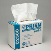 "Prism™ 4-Ply Scrim Wipes In Pop Case, 9-3/4"" x 17"", 4-Ply, White, 150/Box, M-C2300"