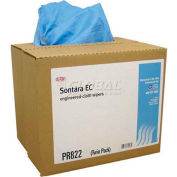 "Dupont® Sontara EC® Medium Duty/Low Lint Wipes, 12"" x 16-1/2"", 250/Case, M-PR822"