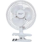 Comfort Zone® CZ6C 6- Inch Clip-On Desk Fan, White