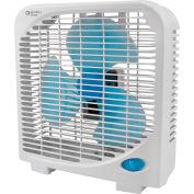 Comfort Zone® CZ9BAS 9 Inch Portable Box Fan, 6 pack, Assorted Colors - Pkg Qty 6