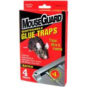 Mouse Guard Disposable Mouse Glue Traps 4 Pack - A1104N - Pkg Qty 24