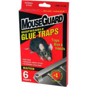 Mouse Guard Disposable Mouse Glue Traps, 6 Pack - A1106 - Pkg Qty 12
