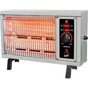 Comfort Zone® Electric Radiant Heater CZ550 1250 / 1500W 5120 BTU
