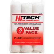 "Hi-Tech 9"" X 3/8"" Poly Roller Covers, 3 Pack - RC31895"