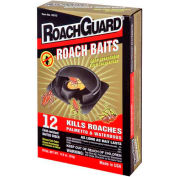 Roach Guard® Roach Bait Stations, 12 Stations/Pack, 12 Packs - RG12 - Pkg Qty 12