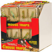 Mouse Guard Wooden Mouse Trap 4 Pack - TM2X12PDQ - Pkg Qty 12