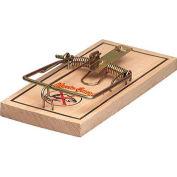 Rat Guard Wooden Rat Trap, 12 Traps - TR1 - Pkg Qty 12