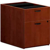 "basyx® BL Laminate Series Hanging Pedestal File, 15-5/8""W x 21-3/4""D x 19-1/4""H Medium Cherry"