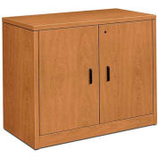 "HON® 10500 Series Storage Cabinet With Doors, 36""W x 20""D x 29-1/2""H Harvest"