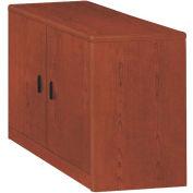 HON 10700 Series Storage Cabinet with Doors, 36W x 20D x 29-1/2H, Henna Cherry