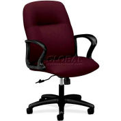 HON® - Gamut® 2070 Series, Managerial Mid-Back Swivel/Tilt Chair, Wine