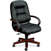HON® - Pillow-Soft® 2190 Series, Executive High-Back Swivel/Tilt Chair, Black