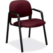 HON® - Solutions Seating® 4000 Series, Guest Chair with 4-Leg Base, Wine