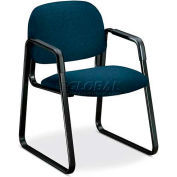 HON® - Solutions Seating® 4000 Series, Guest Chair with Sled Base, Confetti Blue