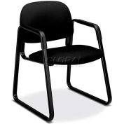 HON® - Solutions Seating® 4000 Series, Guest Chair with Sled Base, Black