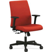 HON Ignition Low-Back Task Chair, Center Tilt, Poppy Fabric