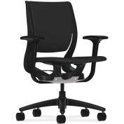 HON Purpose HON Purpose Task Chair, YouFit Flex Motion, Onyx / Black