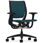 HON Purpose HON Purpose Task Chair, YouFit Flex Motion, Onyx / Cerulean