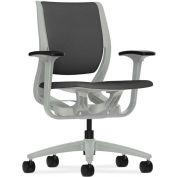 HON Purpose HON Purpose Task Chair, YouFit Flex Motion, Black/Platinum
