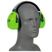 Leightning Hi-Visibility Earmuffs, HOWARD LEIGHT 1013941