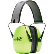 Leightning Hi-Visibility Earmuffs, HOWARD LEIGHT 1013942