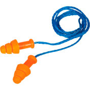 Howard Leight™ SMF-30 SmartFit® Reusable Earplugs, Corded, NRR 25, 100 Pairs/Box