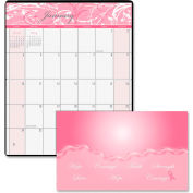 "House of Doolittle™ Breast Cancer Awareness Pocket Planner 3-5/8"" x 6-1/2"" x 5/16"" Pink"