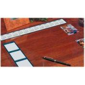 "See-Thru Desk Pad Organizer 24"" x 19"" Vinyl/Clear"