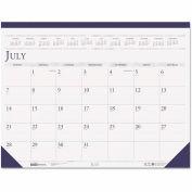 House of Doolittle™ Compact Academic Desk Pad Calendar, 18-1/2 x 13, 2018-2019