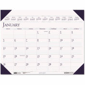 House of Doolittle™ Executive Monthly Desk Pad Calendar, 24 x 19, 2016