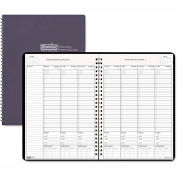 House of Doolittle™ Weekly Planner w/Expense Log, 8-1/2 x 11, Blue, 2015