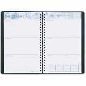 House of Doolittle™ Academic Weekly/Monthly Appointment Book/Planner, 5 x 8, Black, 2015-2016
