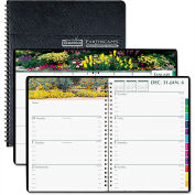 House of Doolittle Gardens of the World Weekly/Monthly Planner, 7 x 10, Black, 2016