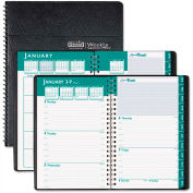 House of Doolittle Express Track Weekly/Monthly Appointment Book, 8-1/2 x 11, Black, 2016-2017