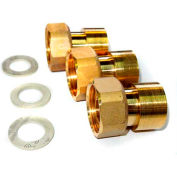 """Honeywell 1"""" Sweat Union Kit With Gaskets AM08-040, Use For AM-1 Series"""
