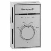 Honeywell Thermostat, Medium Duty Line Voltage T651A3018, 44 To 86°F Heating Range