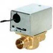 "120V 3/4"" Sweat Connection Line Voltage Motorized Zone Valves W/ 8 Cv Capacity"