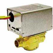 "120V 1/2"" Sweat Connection Line Voltage Motorized Zone Valves W/ 35 Cv Capacity"
