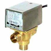 "120V 3/4"" Sweat Connection Line Voltage Motorized Zone Valves W/ 7 Cv Capacity"