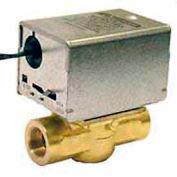 "24V 1/2"" Npt Connection Low Voltage Motorized Zone Valves W/ 35 Cv Capacity"