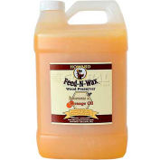 Howard Feed-N-Wax Wood Polish & Conditioner 1 Gallon Jug 4/Case
